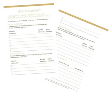 Self-Assessment Worksheet