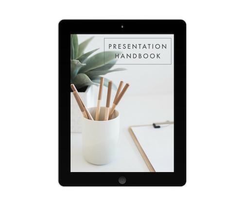 Presentation Handbook