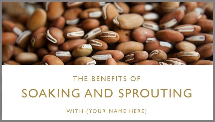 The Benefits of Soaking and Sprouting